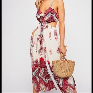 Free people Bella jumpsuit size small